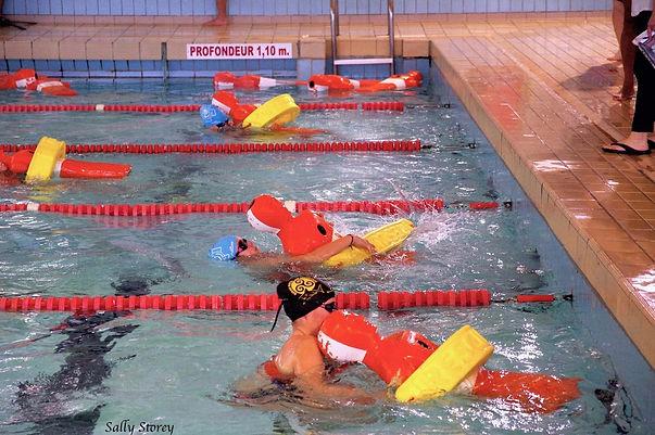 100m bouée tube sauvetage eau plate ffss