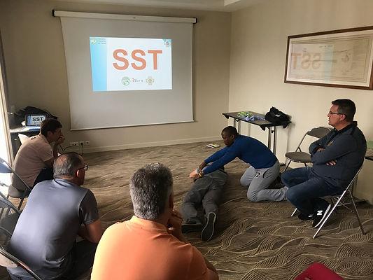 formation SST sauveteur secouriste du tr