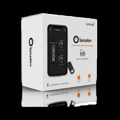 SensAiry 2 Wheeler Internal TPMS - Pack of 2 Sensors