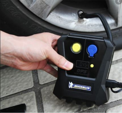 Michelin 12264 Compact 'Top Up' Digital Tyre Inflator (Upto 40Psi)