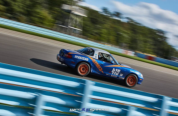 Mike Smith and the 415 Miata at Watkins Glen