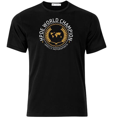 HPDE World Champion T-shirt