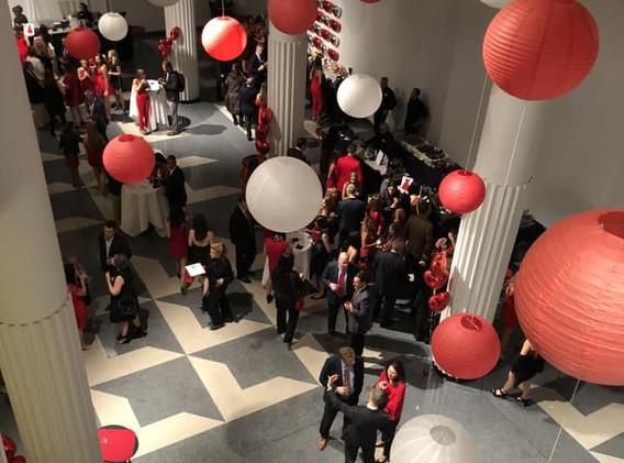Alpha Phi Red Dress Gala