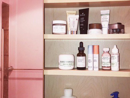 What's On My Shelf: Skincare Products I Can't Live Without