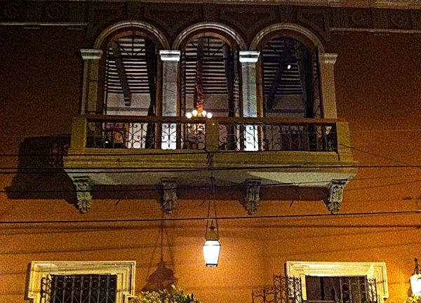 Merida townhouse of Vicente Solis, owner of Hacienda Xcanchakan 19th C