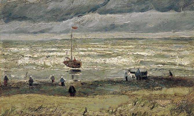 """View of the Sea at Scheveningen"" - a memory"
