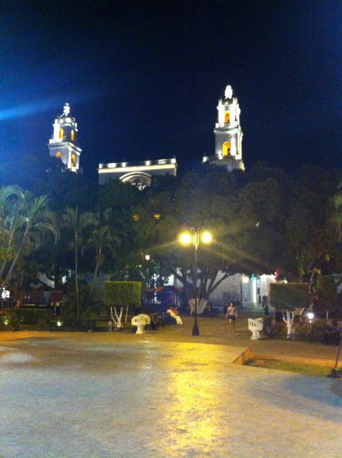 An Evening Stroll in el Centro