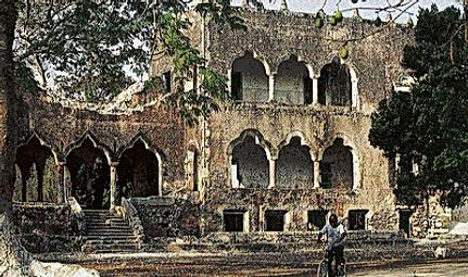 Hacienda Xcanchakan before restoraion