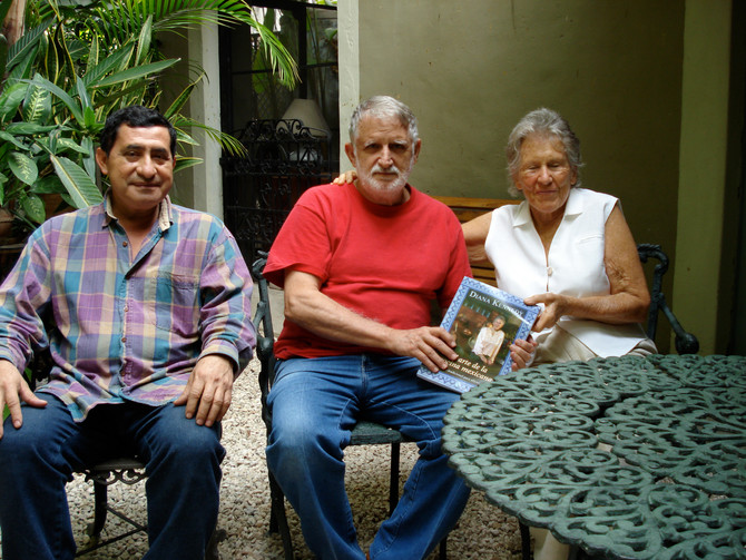 Diana Kennedy, Roger Lynn and Jorge Manzanero - admirers of this special place