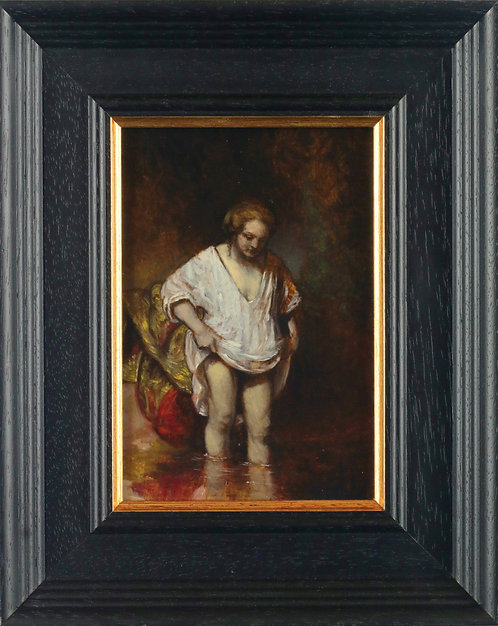'Woman Bathing' after Rembrandt