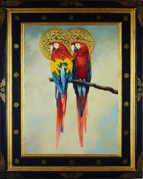'Birds Of Paradise', Two Macaws