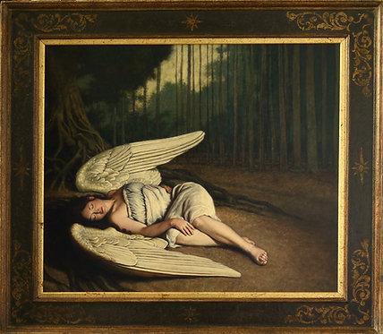 'Angel Resting In Woodland'