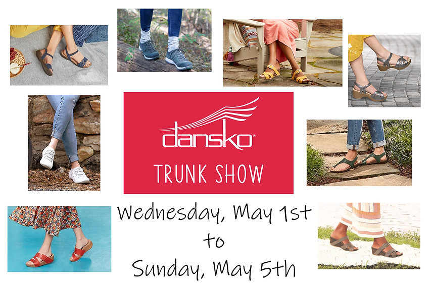 dansko trunk show sign.jpg