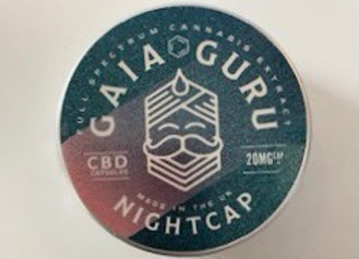 Gaia Guru CBD Night Caps
