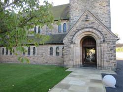 The Entrance at Holy Trinity