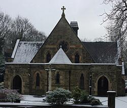 St John's Church in the Snow