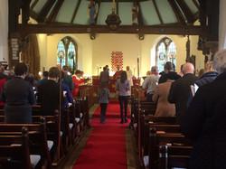 Service at St John's