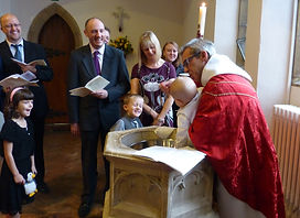 Baptism at St John's