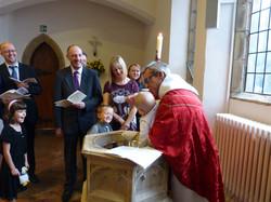 A Baptism at St John's