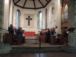 Our two Choirs together