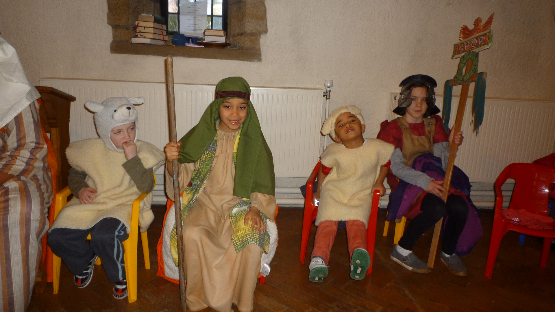 Costumes for the Nativity