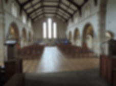 Inside Holy Trinity Millhouses