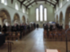 A Packed Joint Service at Holy Trinity