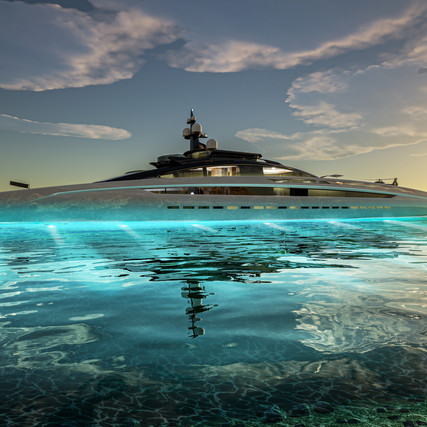 Project Sunrise S/Y - Sleek Lines & Luxury Concepts