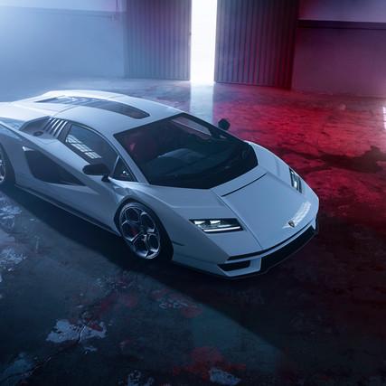 Re-born Lamborghini Countach - A Retro Dream