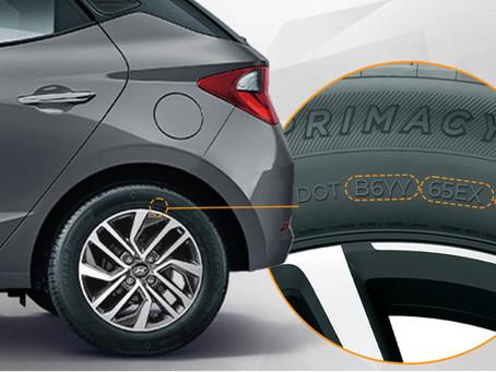DOT do pneu: ele indica a validade do pneu? Entenda!