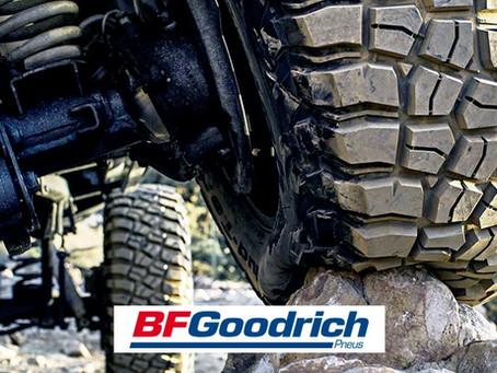 Conheça os pneus BFGoodrich, marca do grupo Michelin