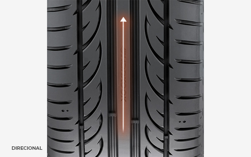 pneu direcional
