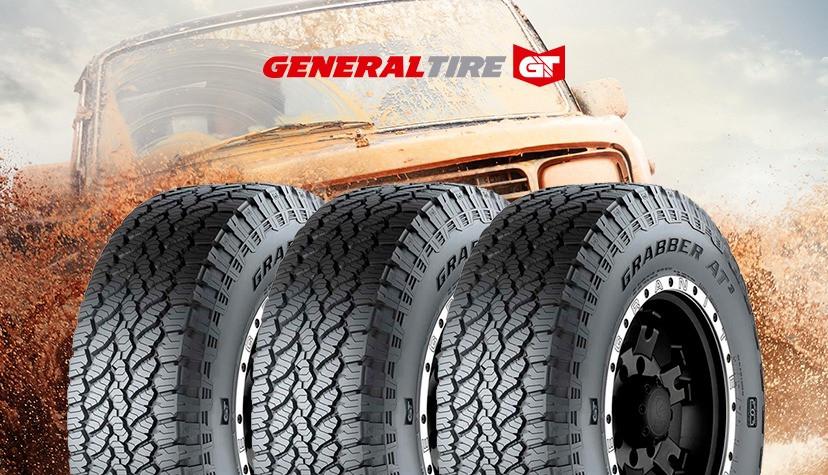 Carro passando pela lama usando pneus General Tire - Achei Pneus
