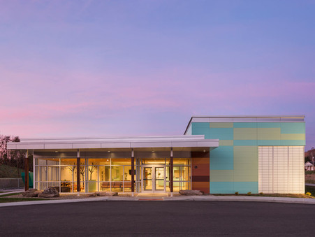 Silling Architects Earns AIA WV Honor Award For Cabin Creek Health Center