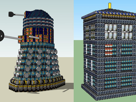"""Charleston Boy Scouts and a Dr. Who Dalek Help """"Exterminate"""" Hunger"""