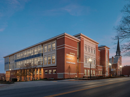 Delaware County Courthouse Ohio Earns AIA WV Design Award