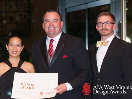 Silling Earns Four AIA West Virginia Design Awards