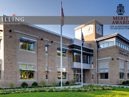 Silling Architects - Lewis County Judicial Annex Earns AIA Award