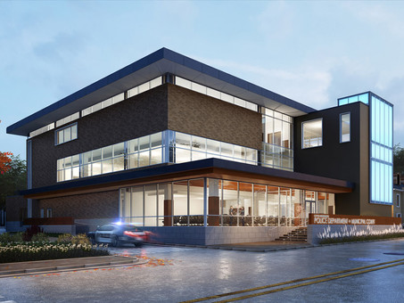 New Martinsburg Police HQ + Municipal Court Building To Be Community Hub