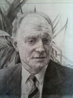 Preliminary drawing, Neil Kinnock