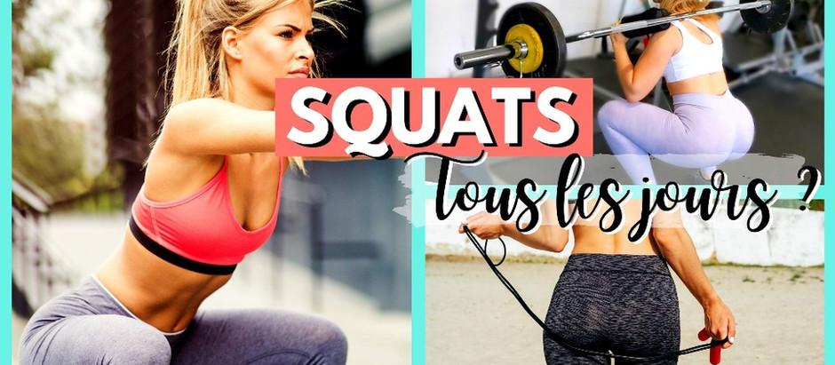 Faut-il faire des squats tous les jours ?
