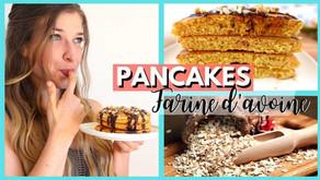Recette pancakes à la farine d'avoine