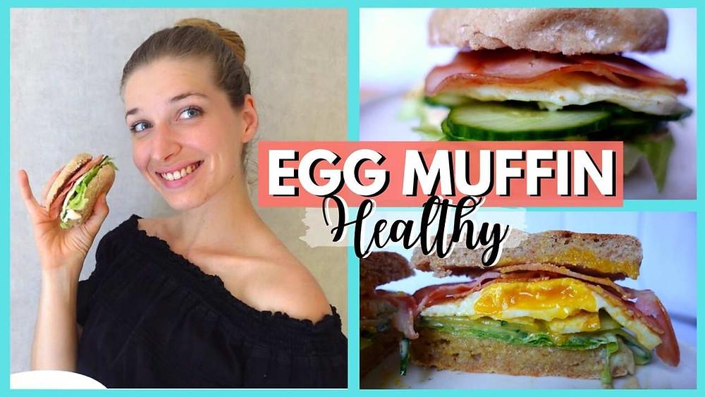 egg muffin anglais healthy