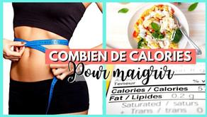 Combien de calories par jour pour maigrir ? (Femme)