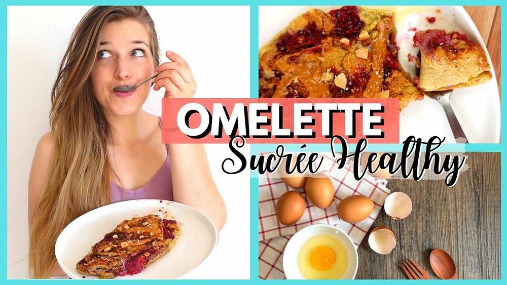 recette omelette sucrée healthy