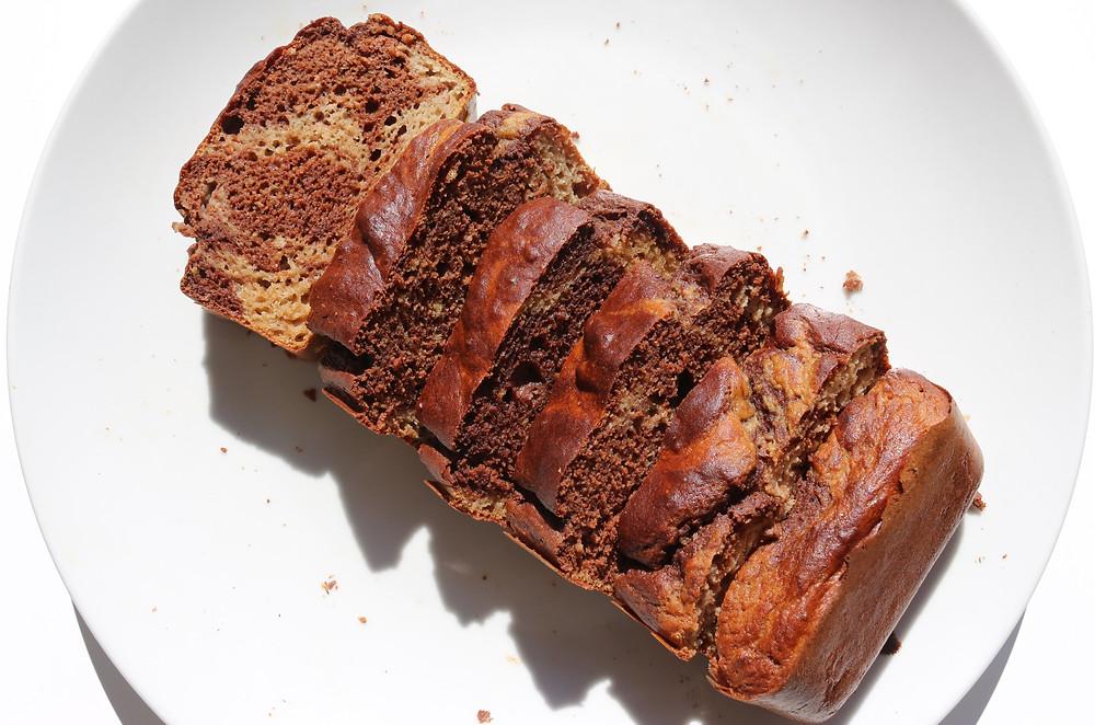 gâteau marbé pour une diète de musculation pour femme