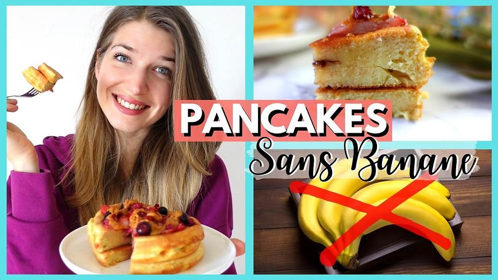 pancakes moelleux sans banane