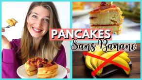 Recette pancake protéiné sans banane