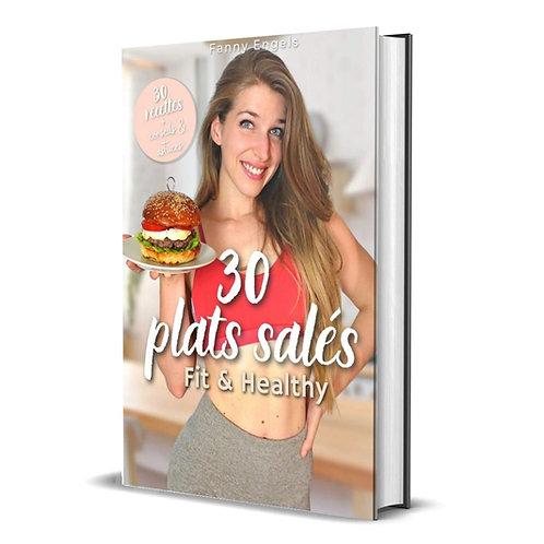30 plats salés Fit & Healthy