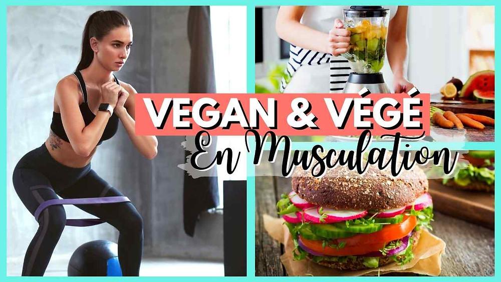 prendre du muscle en étant végétarien vegan